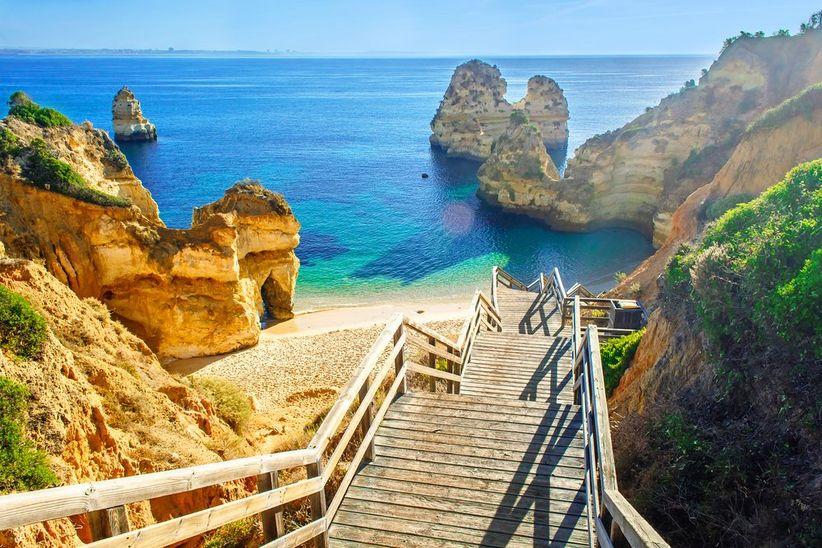 Playa do Camilo, Algarve (Portugal)