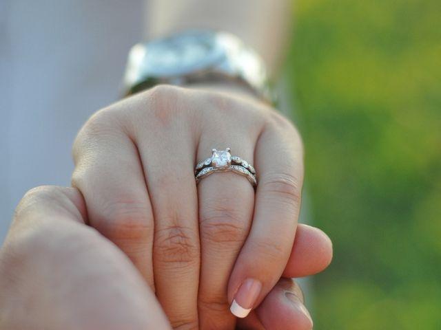 7 hermosos cojines para llevar los anillos - Anillo de casado mano ...