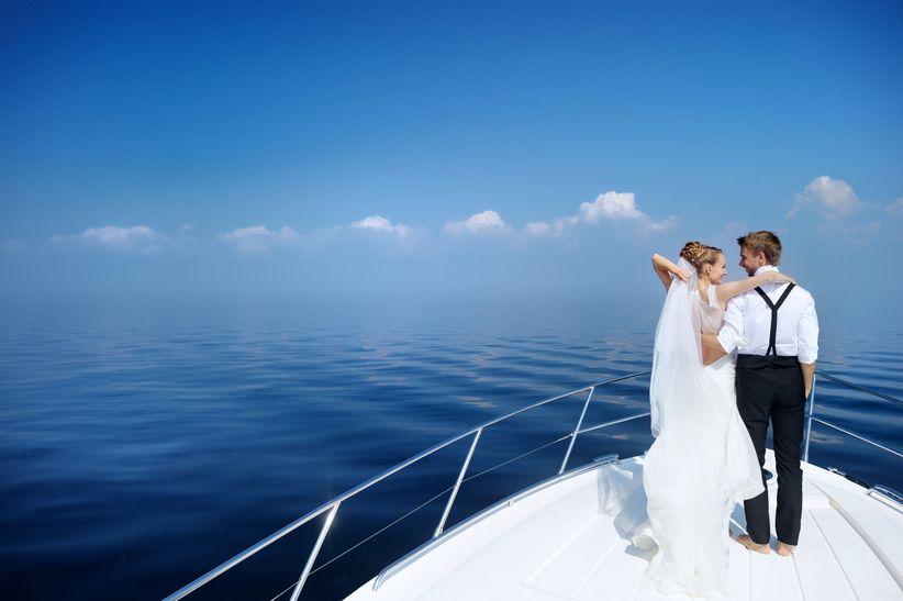 Matrimonio In Yacht : Celebrar la boda en un crucero