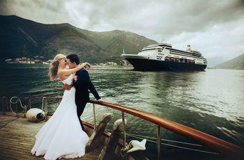 Celebrar la boda en un crucero