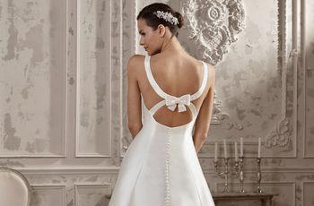 Tipos de escote en la espalda: 6 básicos en los vestidos de novia