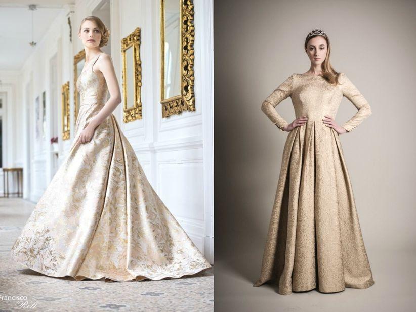 Vestidos de novia inspirados en cuentos de hadas