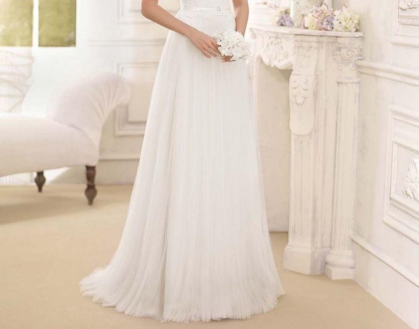 Como decorar un vestido de novia con lentejuelas