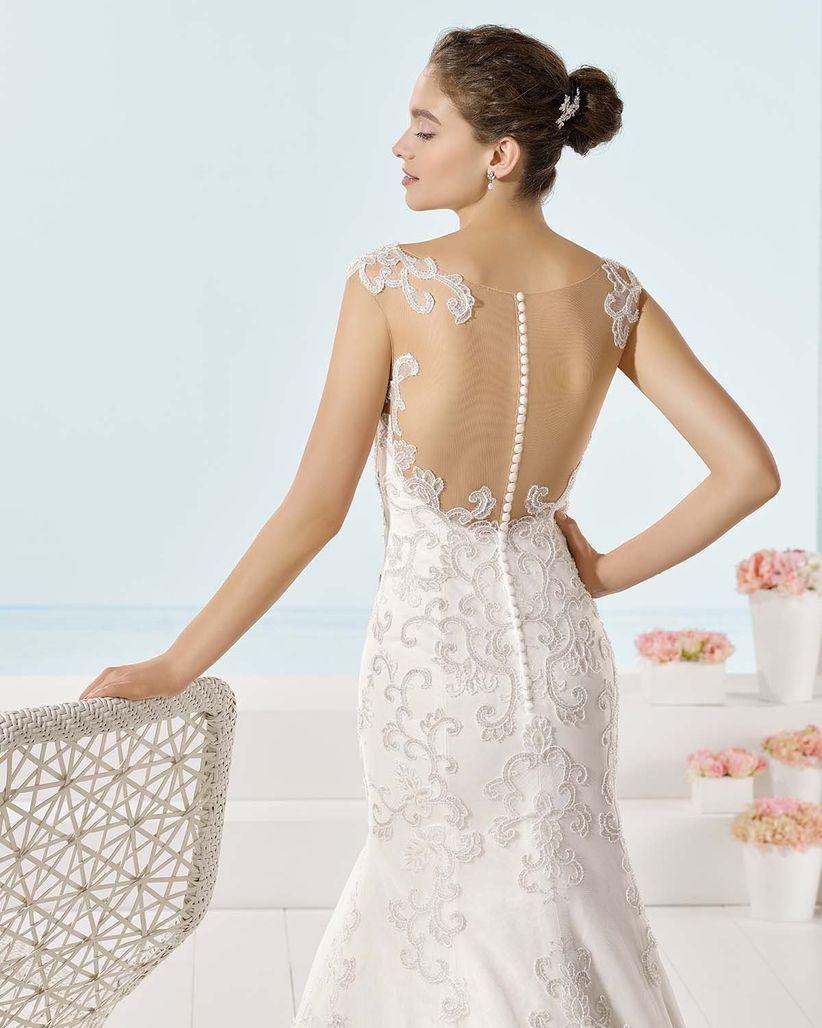 e6d63c7e77 Vestidos de novia con espaldas increíbles  75 diseños que te enamorarán