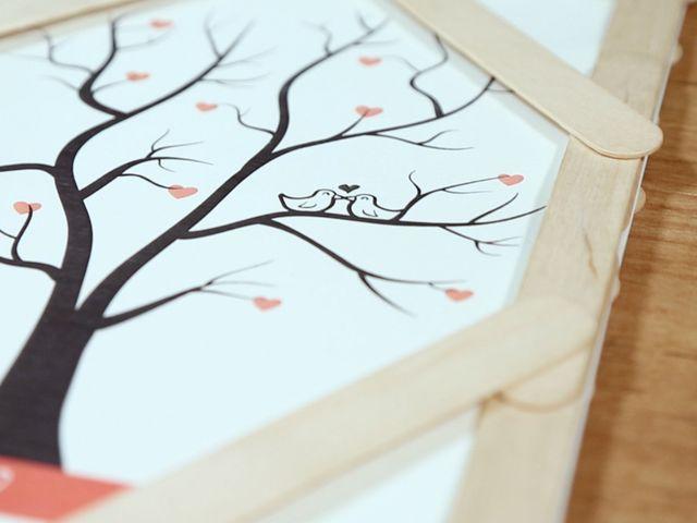 DIY: ¡Anímense a hacer su propio árbol de huellas!