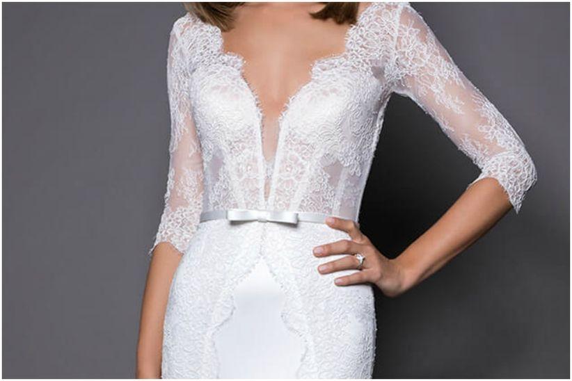 Vestidos de novia corte lapiz