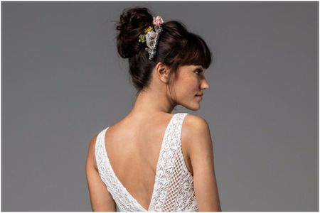 Peinados recogidos fáciles para el día de tu matrimonio