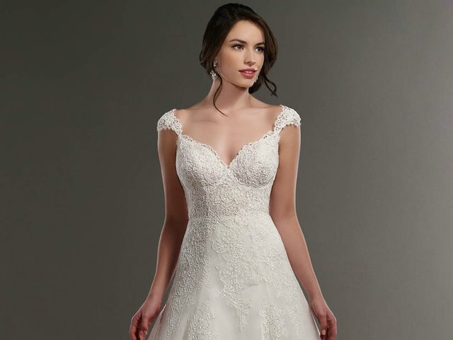 ¿Novia alta?: trucos para encontrar el vestido de novia indicado