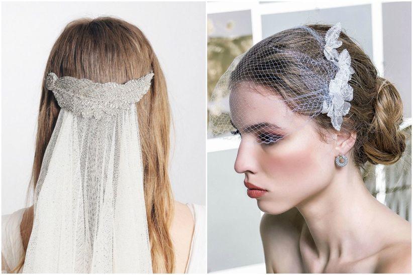 tocado de novia, el complemento perfecto para tu estilismo nupcial