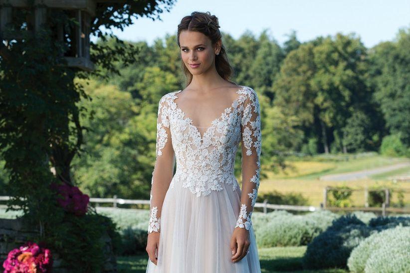 cómo elegir el vestido de novia para estilizar la figura?