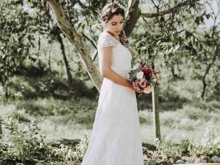 Las tonalidades del vestido de novia