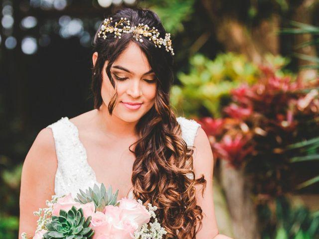 La elección del peinado de novia de acuerdo al largo del cabello
