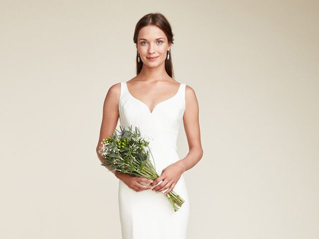 Vestidos de novia Nicole Miller 2018: sencillos y elegantes