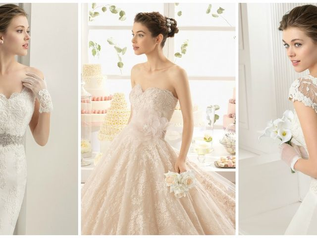 Las tendencias más glamurosas 2015 para tu look de novia