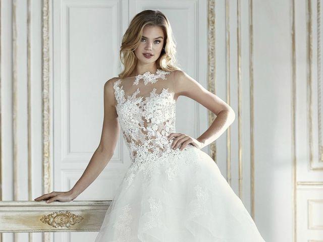 Vestidos de novia La Sposa 2018: siluetas glamurosas con un toque de osadía