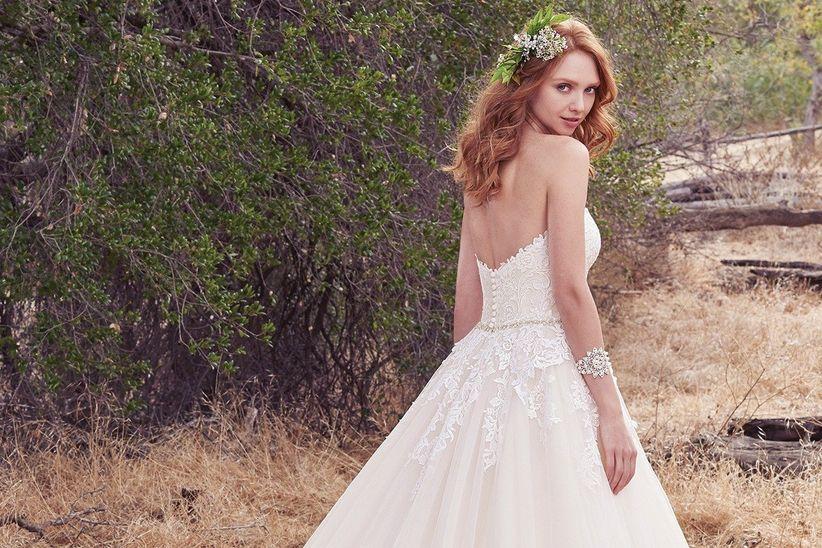 vestidos de novia maggie sottero 2018: elegancia que trasciende