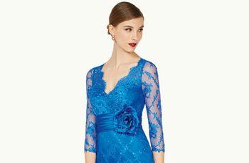 50 vestidos de fiesta azules para brillar en tu próxima boda