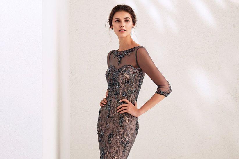 10c6224f6 Vestidos de noche elegantes: para brillar durante la celebración