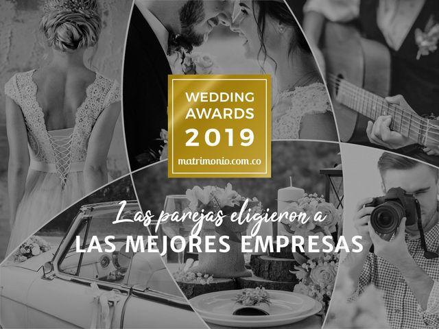 Llega la primera edición de los premios Wedding Awards 2019 de Matrimonio.com.co