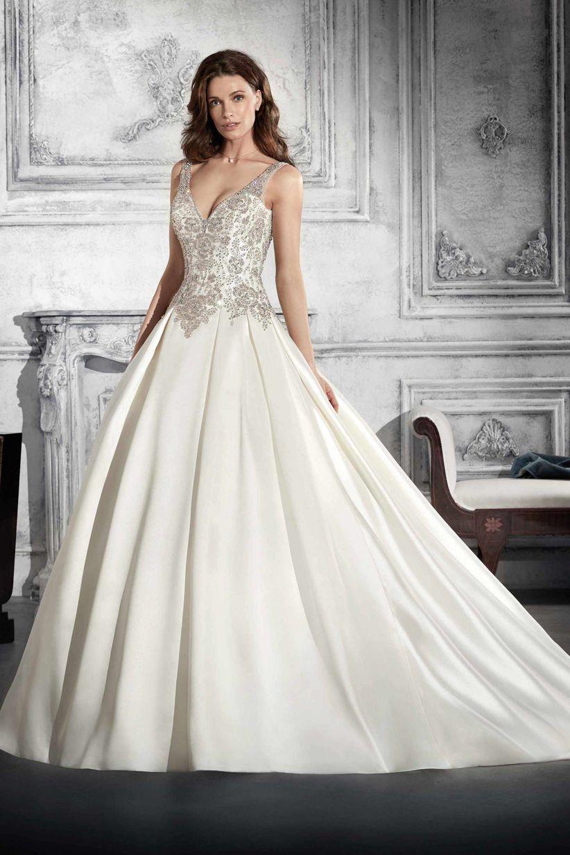 485fb19907 Qué tipos de telas se usan para los vestidos de novia