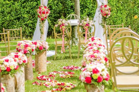 5 ideas para decorar el camino al altar