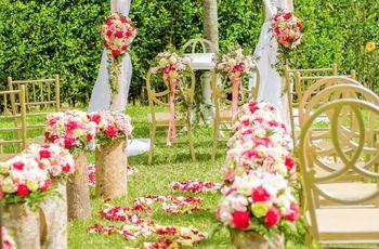 5 ideas para decorar el camino al altar