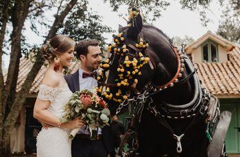 Carruaje para matrimonio: para una llegada de película