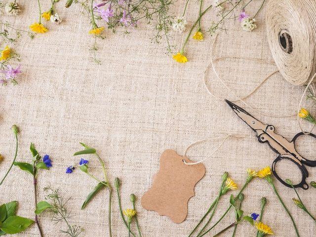 12 maneras de personalizar la decoración de boda... ¡un toque DIY!