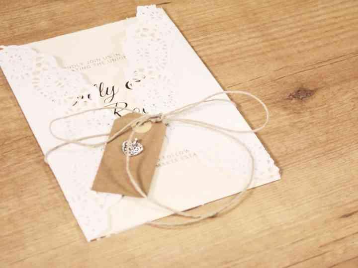 Tarjetas De Invitación Diy Para Que Personalicen Su Matrimonio