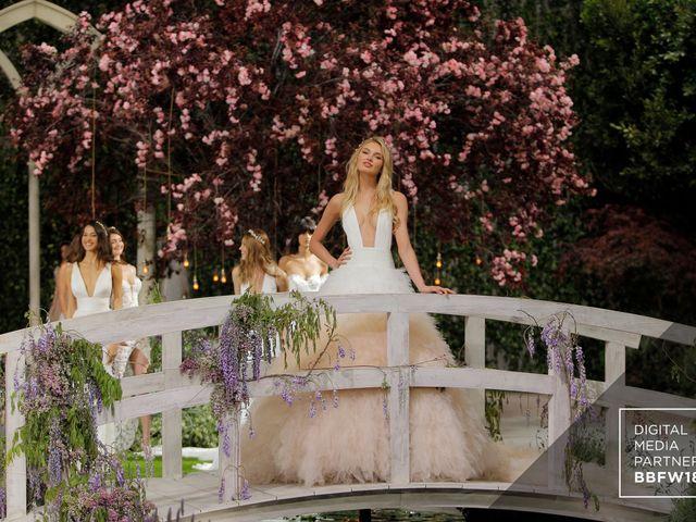 Desfile de la colección Atelier Pronovias 2019 en la Barcelona Bridal Fashion Week