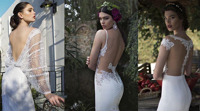 La espalda perfecta para tu vestido de novia