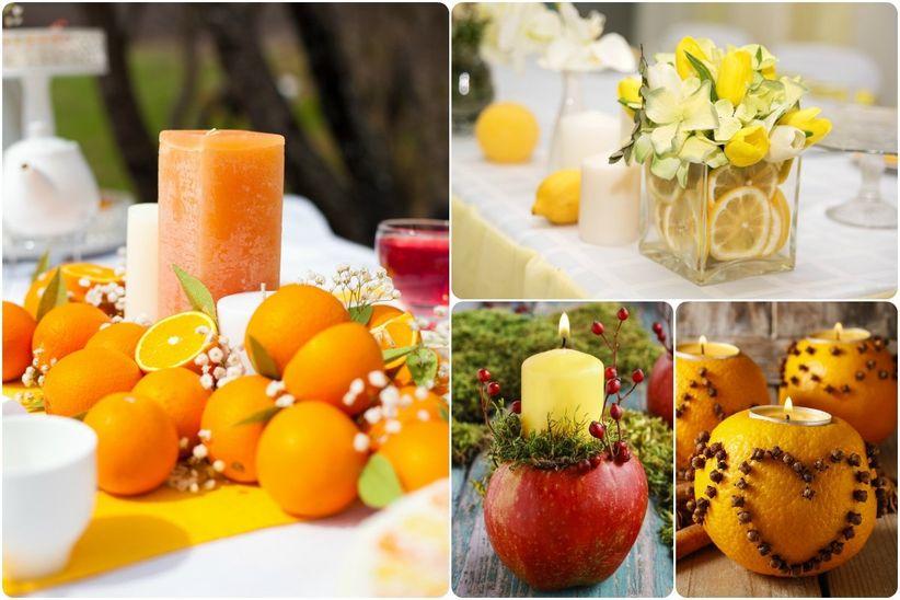 Ideas para incorporar frutas en la decoraci n for Centros de frutas