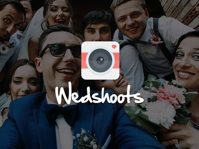¡WedShoots les permitirá reunir todas las fotos de su matrimonio!