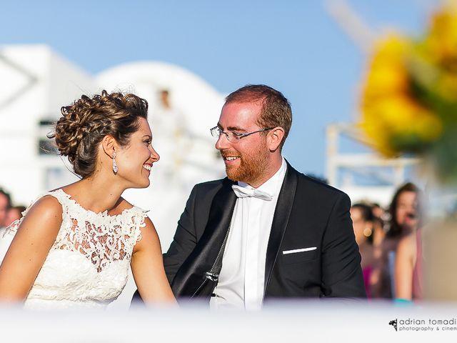 Una boda íntima en Santorini: Marta y Miguel
