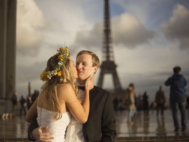 Camille y Luke, una sesión preboda en París