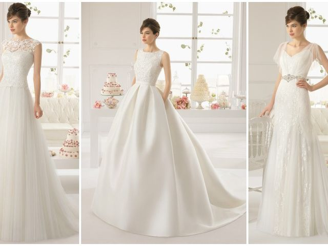Vestidos de novia Rosa Clará 2015
