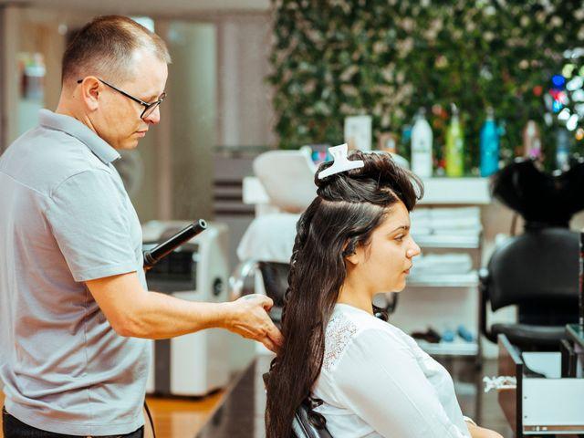 Sácale el máximo provecho a la prueba de peinado de novia