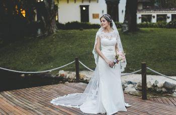 40b1cbe3b6 ¿Quieres llevar un velo de novia   primero conoce las claves para elegirlo