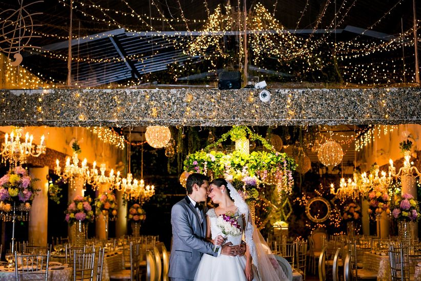 Fabulosas ideas para la decoraci n de sal n para matrimonio - Decoracion de salones estilo romantico ...