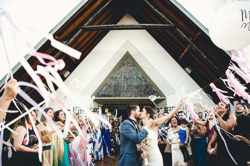 Decoren La Iglesia Para Su Matrimonio Sin Excederse En El