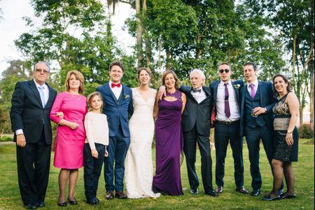 ¿Cómo hacer partícipe a su familia en el matrimonio?