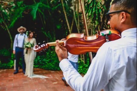 Música de violín para matrimonio: una buena idea para amenizar