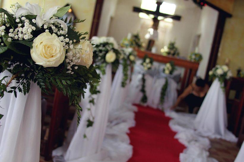 decoren la iglesia para su matrimonio sin excederse en el presupuesto