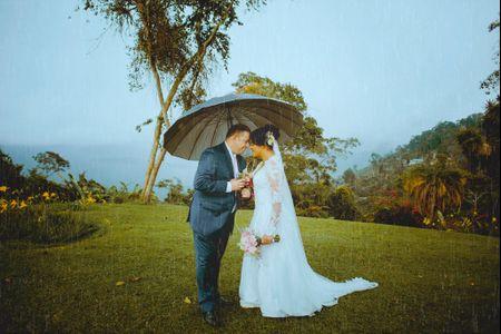 ¿Y si llueve el día del matrimonio? que no falte un plan B