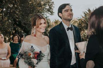 Matrimonio de Mauricio y Alejandra: un enlace íntimo y lleno de encanto