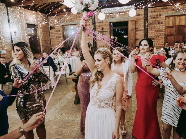 El lanzamiento del ramo de novia