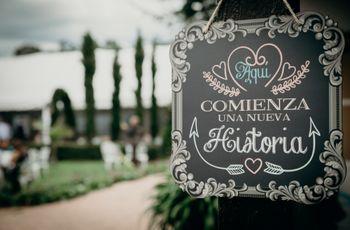 ¿De qué manera incluir la cartelería en su matrimonio?