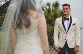 ¿Te dejarías ver por tu prometido con tu vestido de novia antes del gran día?
