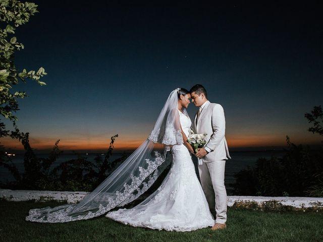 El matrimonio de Eliana y Yamid, y una íntima postboda en Tayrona