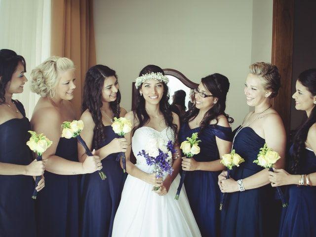 Cómo escoger el vestido adecuado para las damas de honor